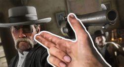 RDR2 Arthur Fingerpistole