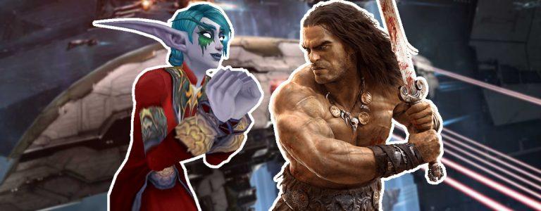 5 Spiele für Hardcore Spieler Titel mit Nachtelfe Conan Eve