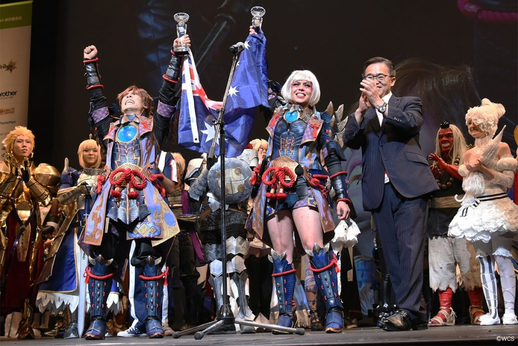 monster hunter world azurstern cosplay