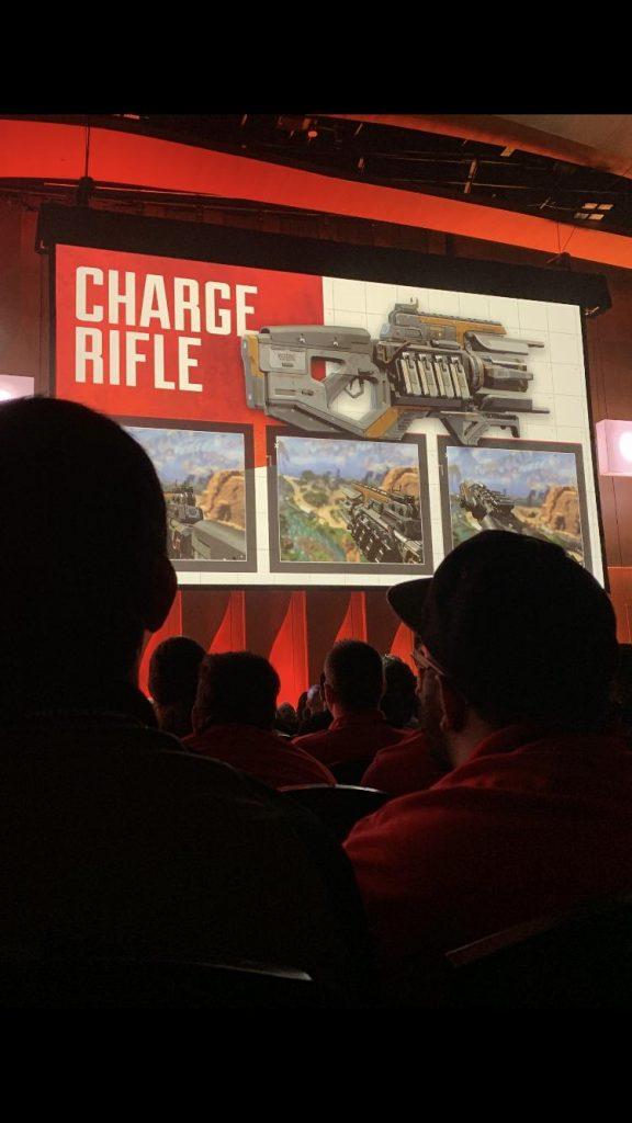 Apex Legends Charge Rifle Leak