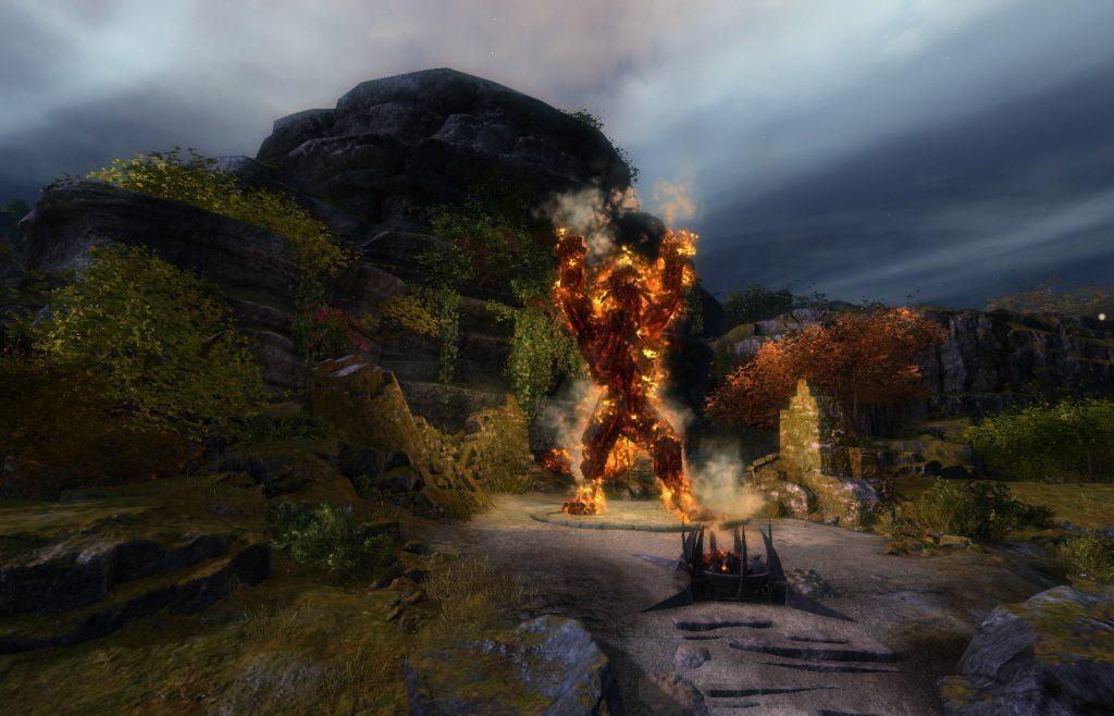 guild wars 2 Flame Legion Effigy