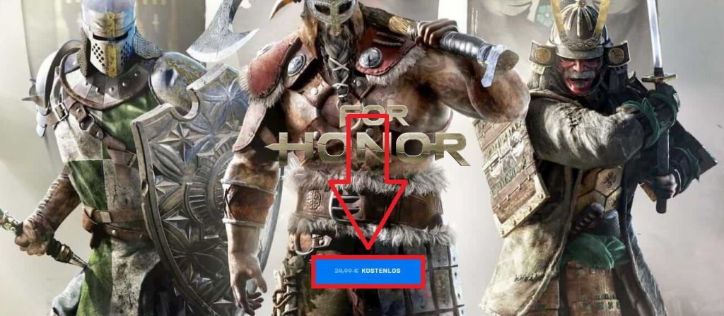 For Honor kostenlos epic