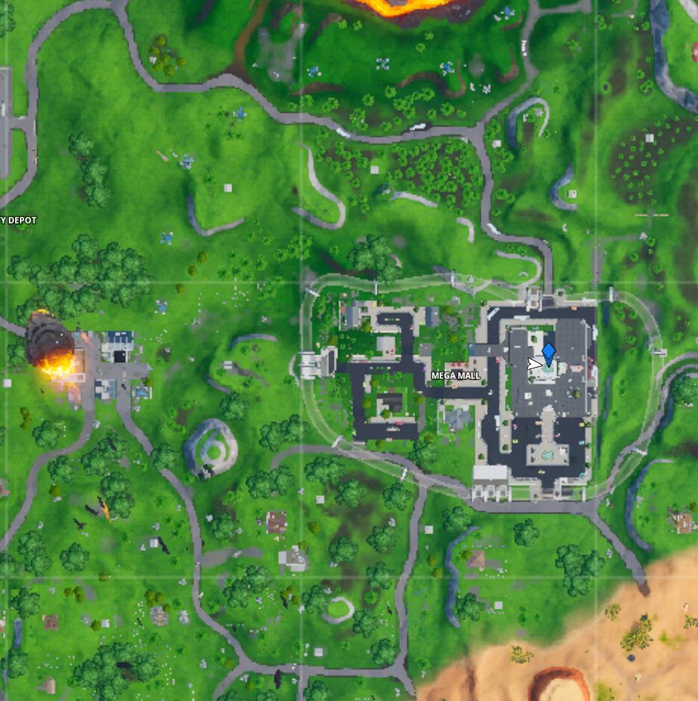 Fortnite Brunnen Karte
