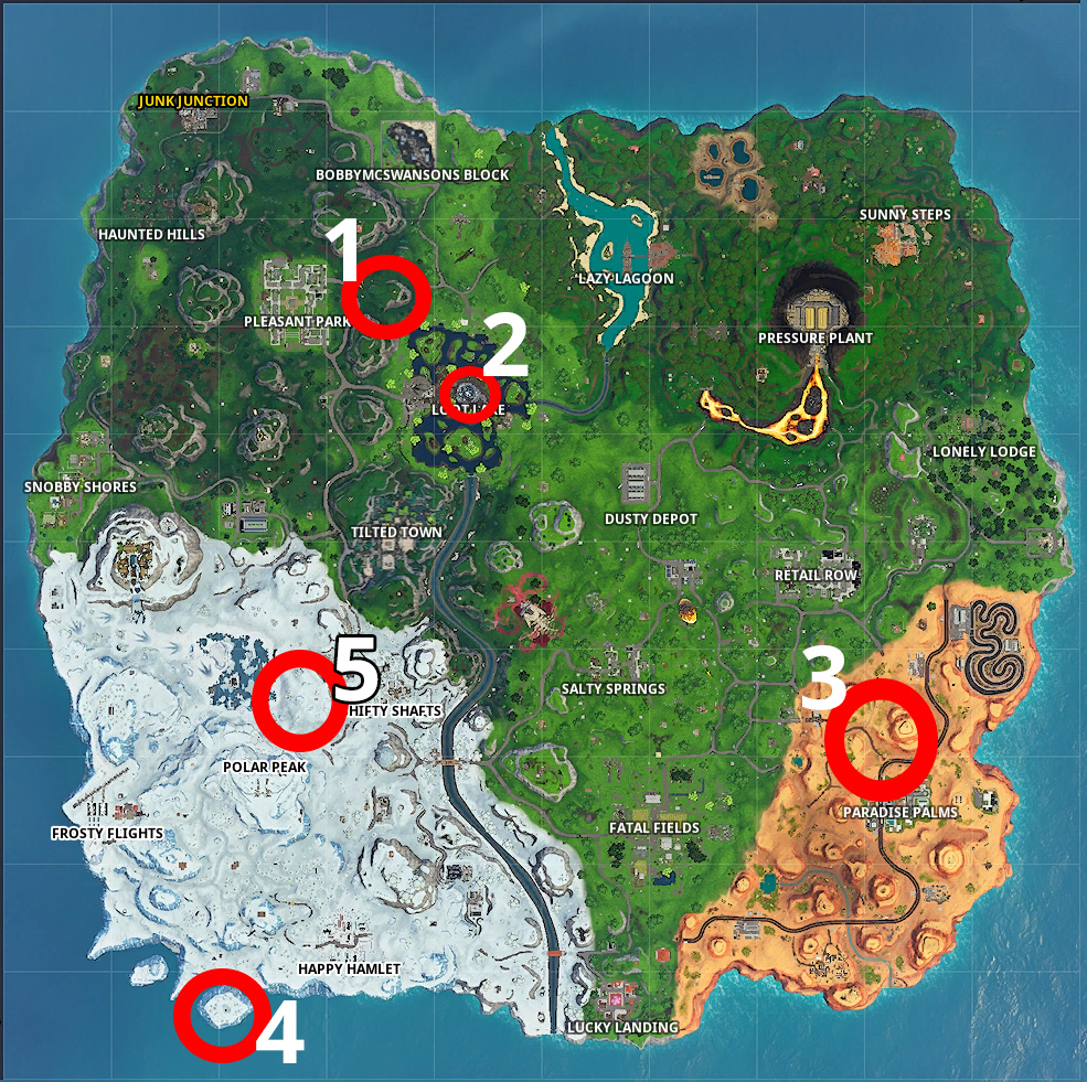 Fortnite Rift Karte Season 10