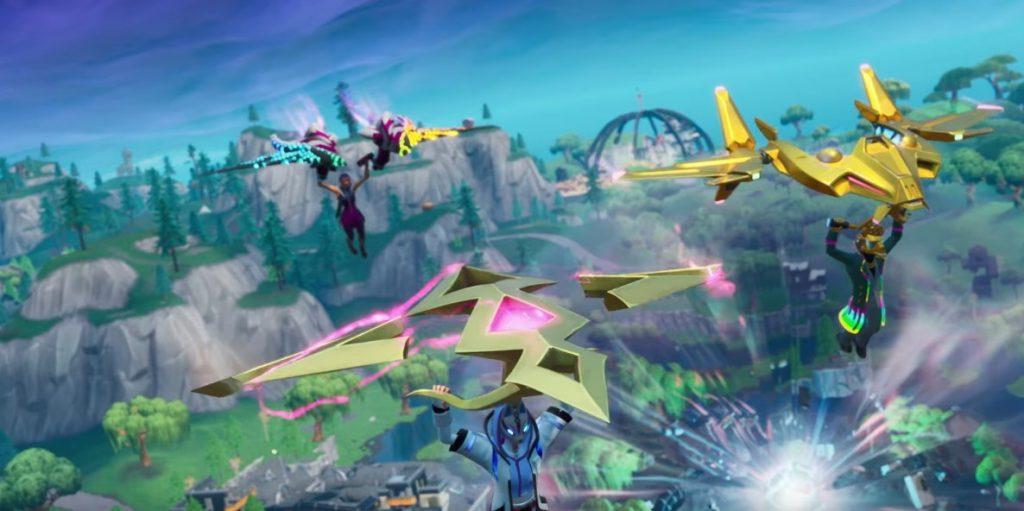 Fortnite Season X Battle Pass Gleiter