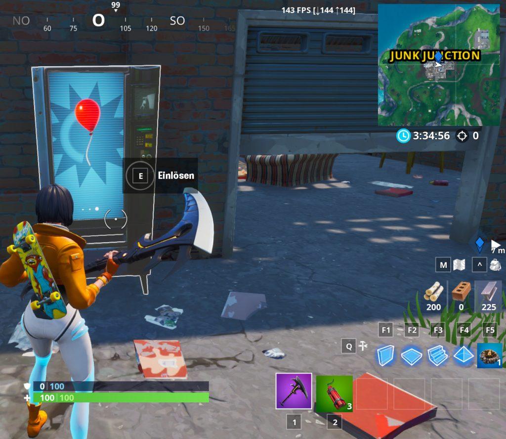Fortnite Verkaufsautomat