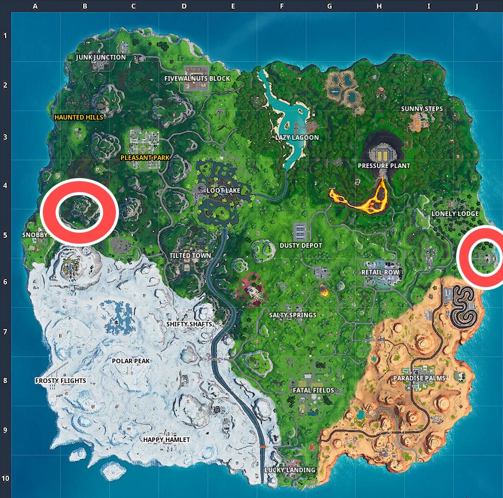 Fortnite Villa Versteck Map