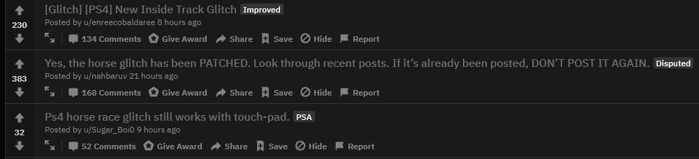 GTA Glitch Reddit