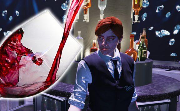 GTA Online Bar Wein Titel