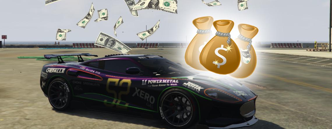 GTA Online: Schnappt euch jetzt 100.000 GTA $ bei diesem Rennen