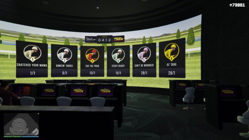 GTA Online Inside Race Übersicht