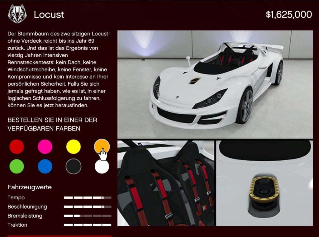 GTA Online Locust Kaufen