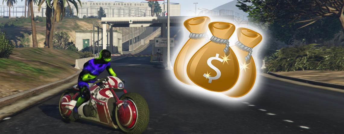 GTA Online: Schnappt euch jetzt 100.000 GTA $ in 2 Minuten