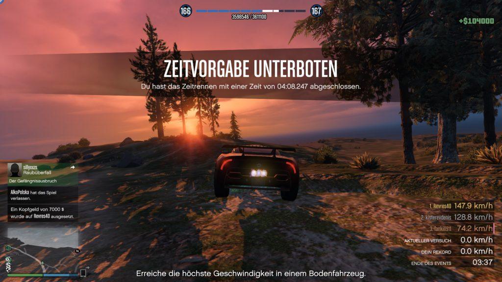 GTA Online Zeitrennen Neo Ziel
