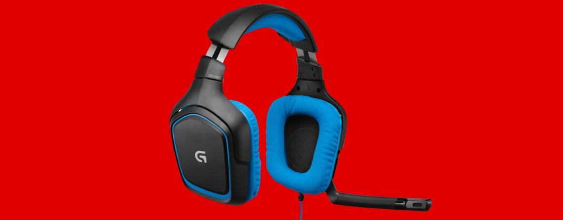 Logitech G430 Gaming Headset in MediaMarkt at a low price