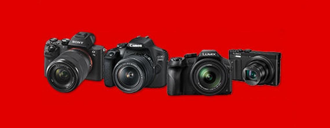 Bis zu 400 Euro Rabatt auf Kameras und Objektive bei MediaMarkt sichern
