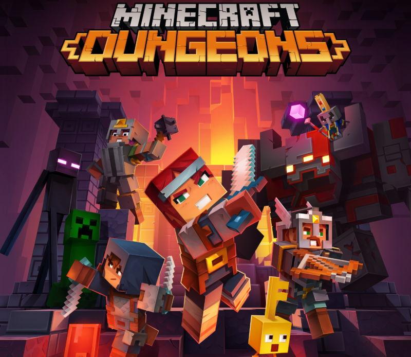 minecraft dungeons key art