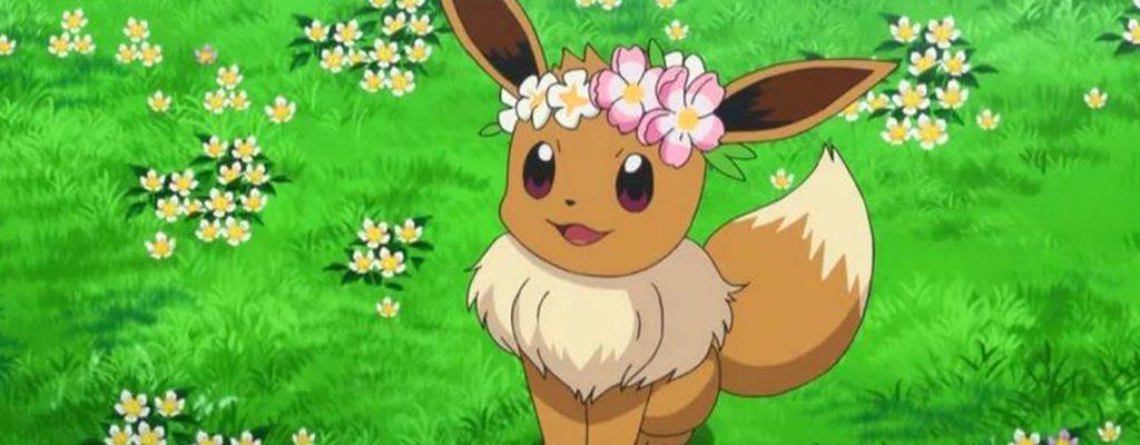 Pokémon GO Evoli Blumenkranz Titel