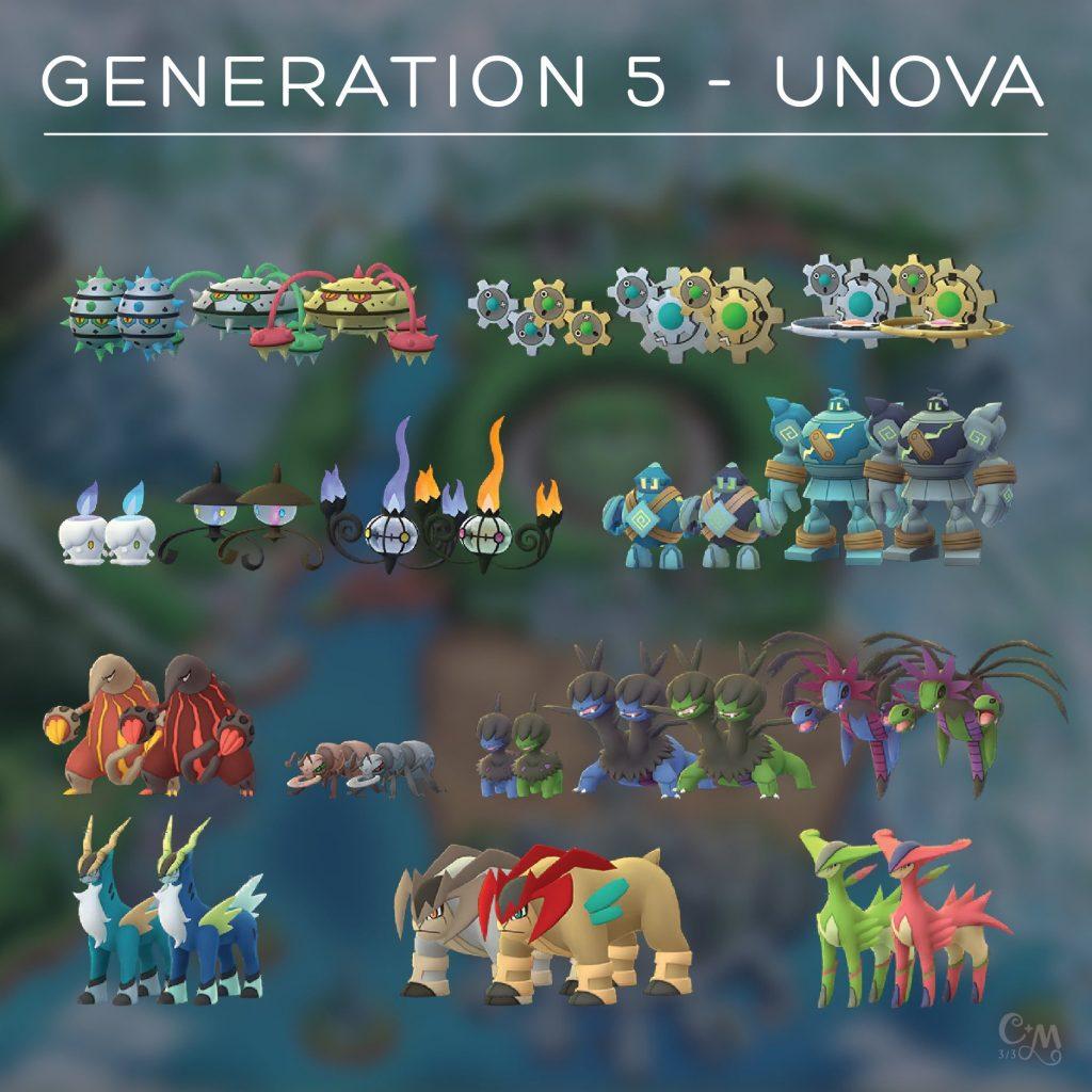 Pokémon GO Gen 5 Sprites Chrales 3