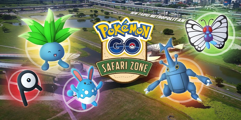 Safari Zone Bild