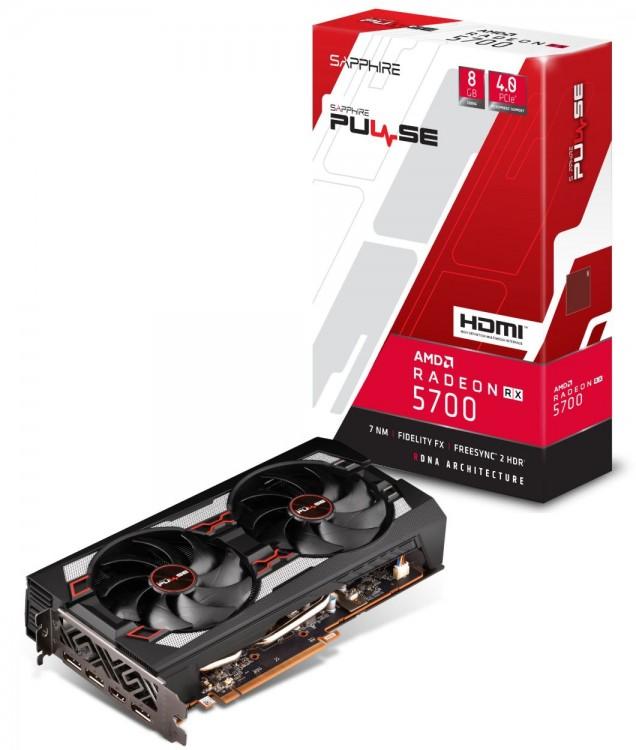 Shop-Bild der Sapphire Radeon 5700 Pulse Radeon