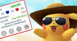Pokémon GO: Wie selten ist 100% IV? – Die Chance auf perfekte Monster