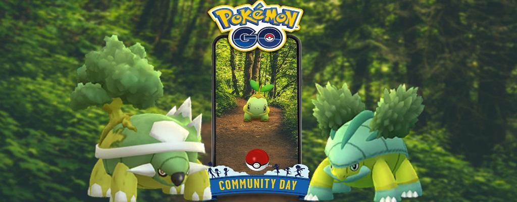 Pokémon GO: So stark wird Chelterrar mit Flora Statue am Community Day