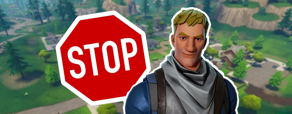 Fortnite Stoppschilder