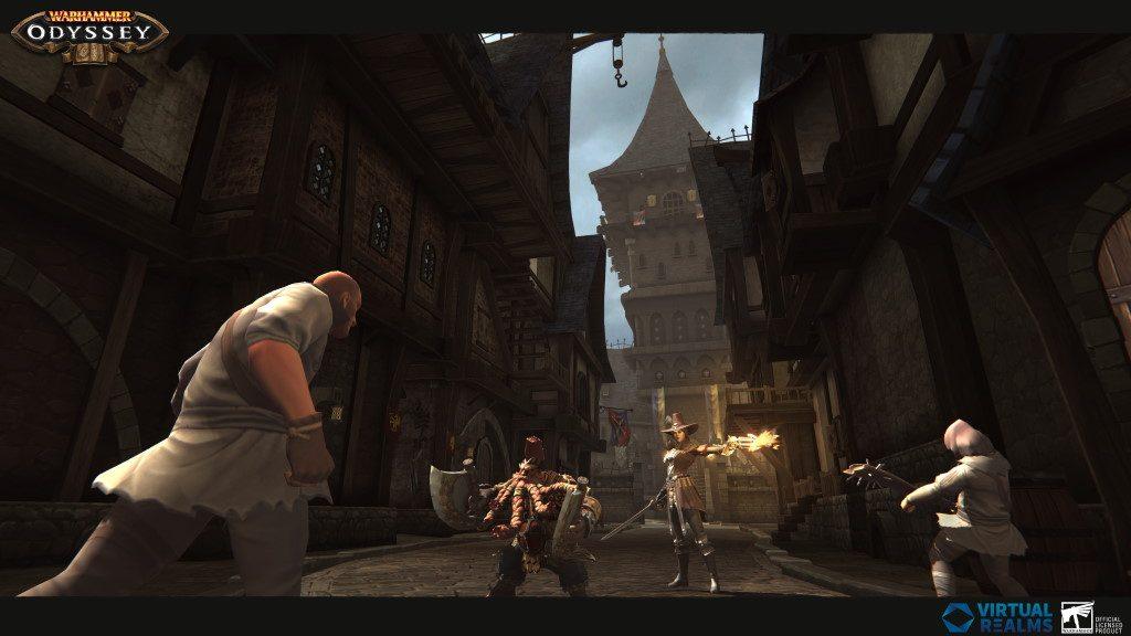 Warhammer Odyssey Screenshot Stadt