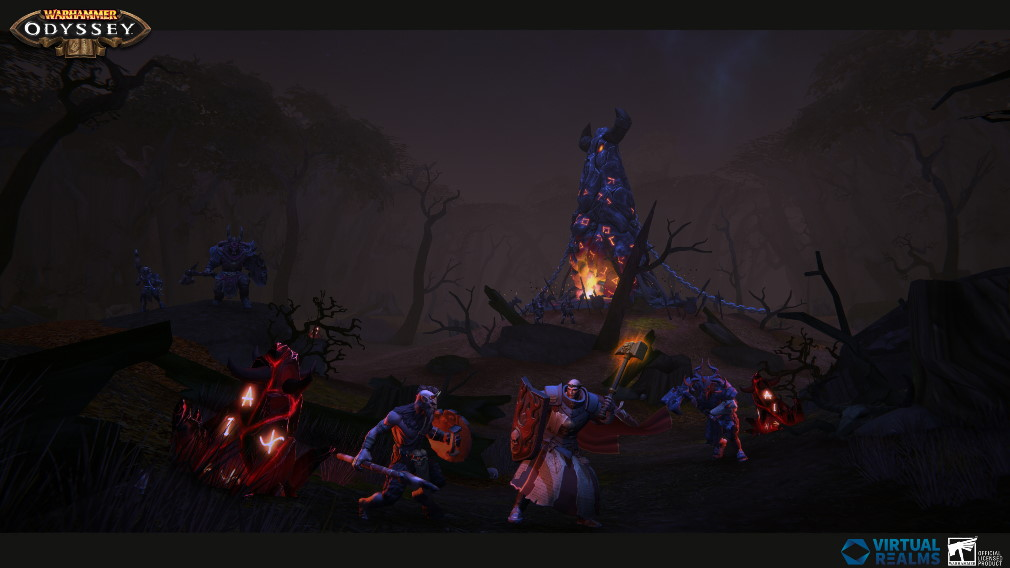 Warhammer Odyssey Screenshot Kampf