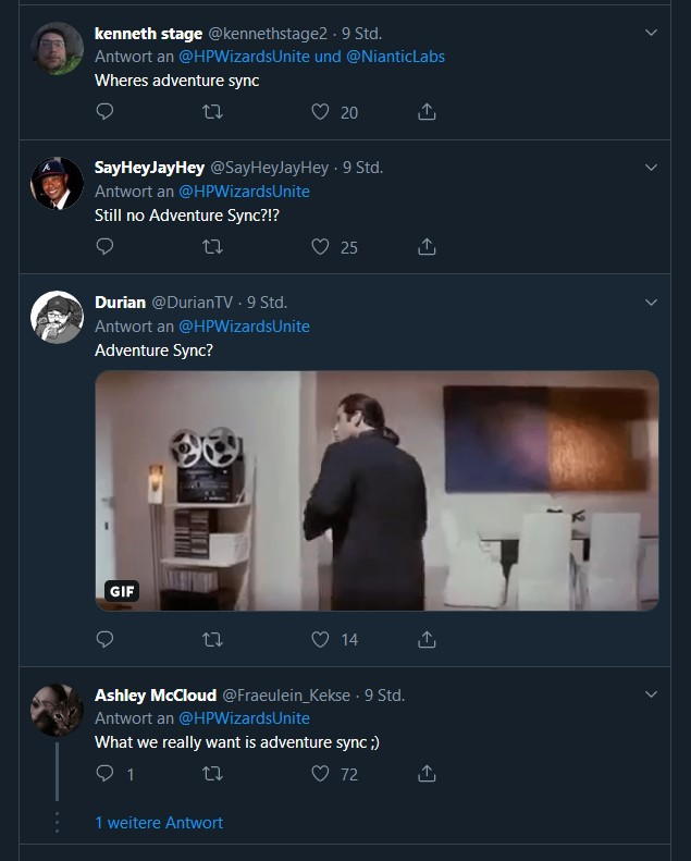 Wizards Unite Twitter Adventure