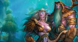 WoW Night Elf Classic title 1140×445