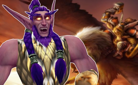 WoW Night Elf Druid happy classic title 1140x445