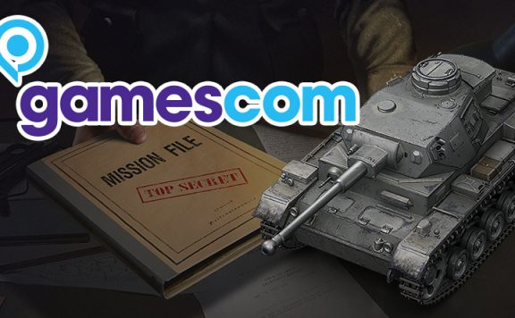 World of Tanks Gamescom Titel