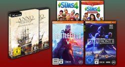 Amazon Angebote: Spiele von EA und Ubisoft stark reduziert