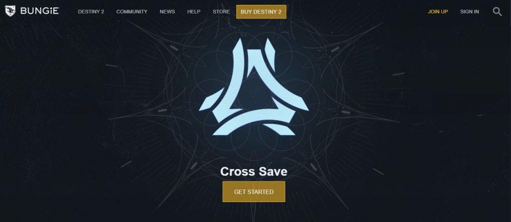 Destiny 2 Cross-Save Start