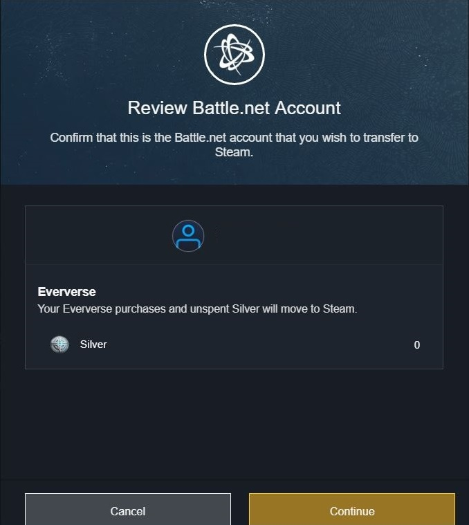 Destiny 2 Steam Battle.net Migration Account