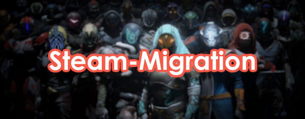 Destiny 2 Steam Migration Guide