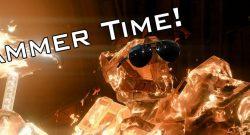 Titan wütet mit seinem Hammer im PvP von Destiny 2 – über 1000 Schaden