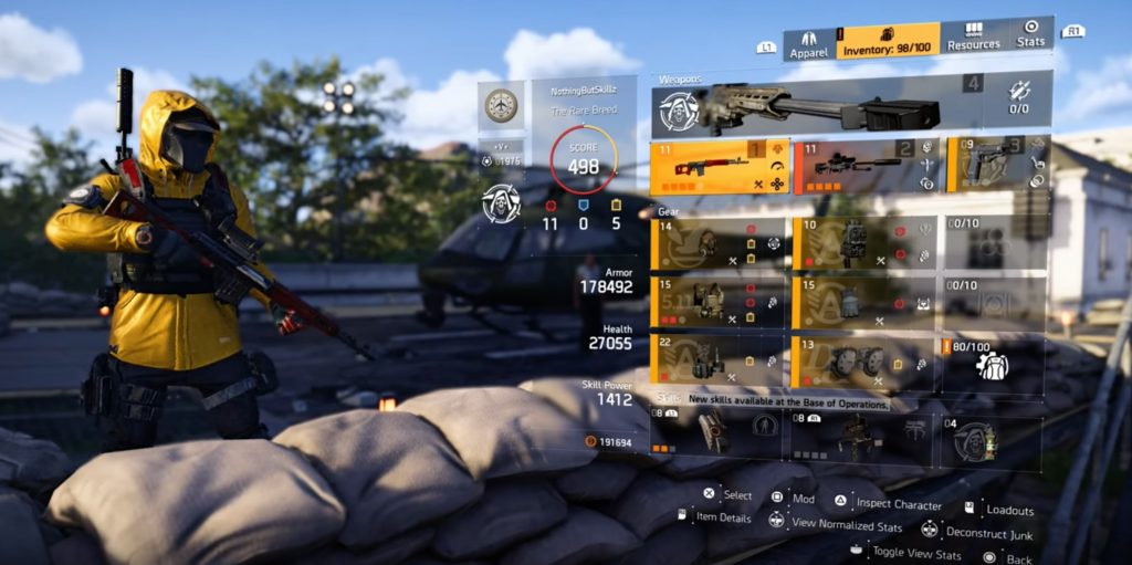 division 2 sniper build