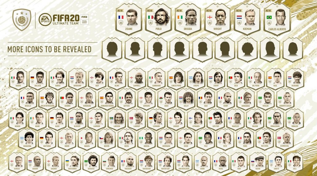 fifa 20 alle icons