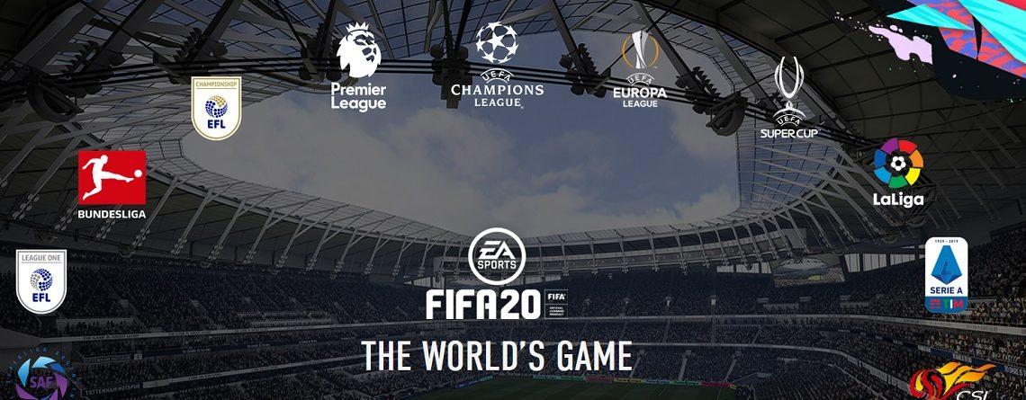 FIFA 20 Lizenzen: Alle Ligen und Teams in der Liste – Was ist neu?