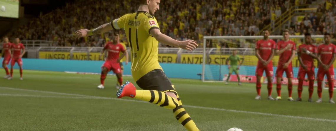 Endlich Bundesliga-Gameplay zu FIFA 20: Seht jetzt Bayern vs. BVB