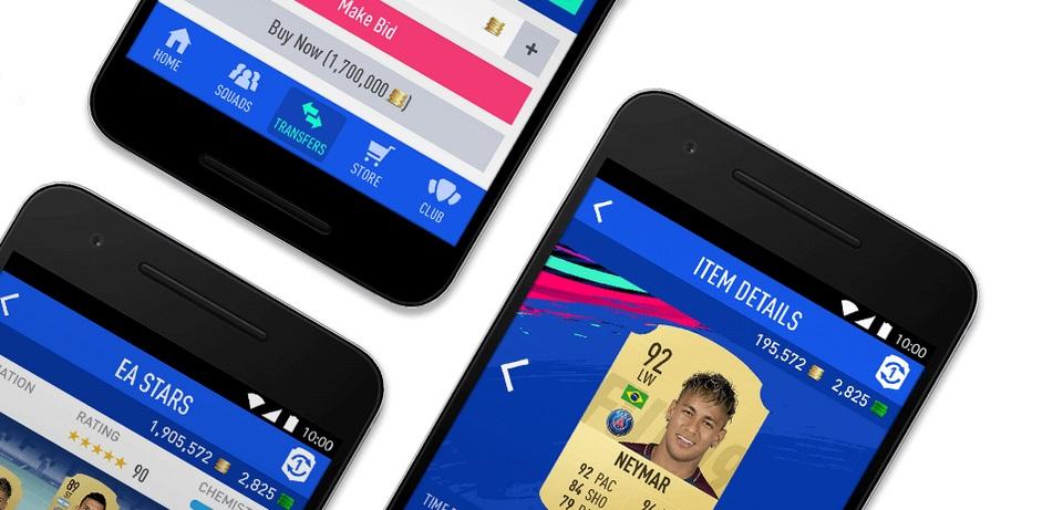 fifa 20 web app mobile