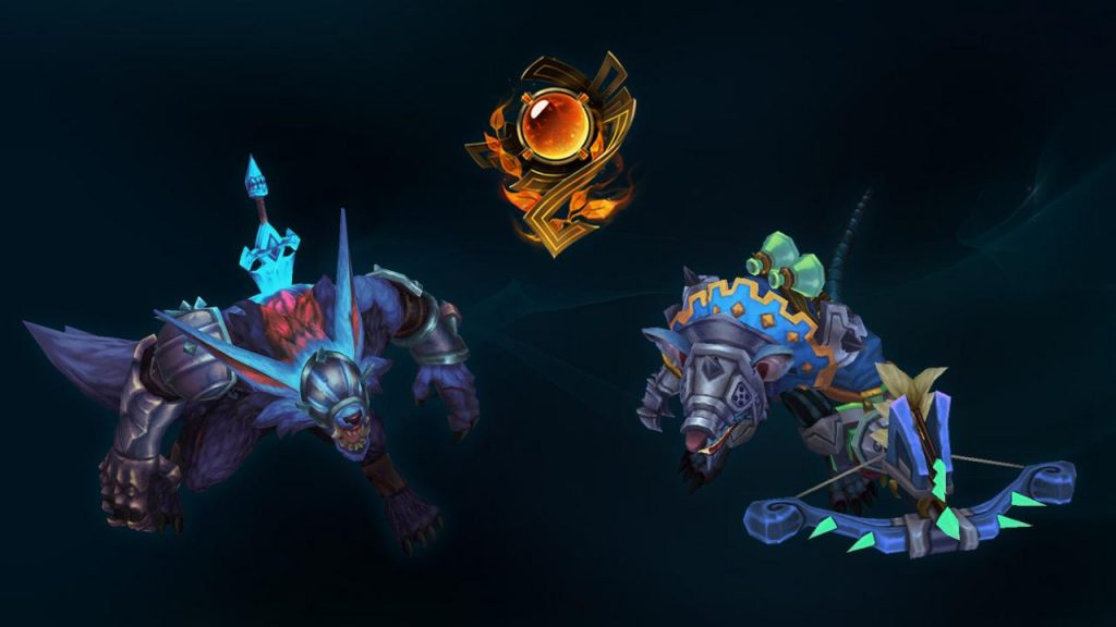 LoL Honor 5 Chroma Skins