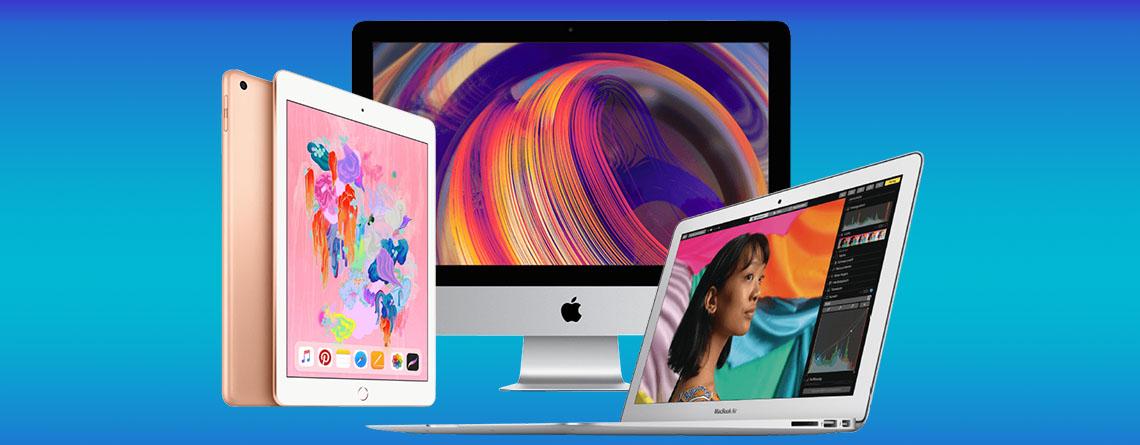 Apple Angebot: iPad 2018, iMac und MacBook Air zum Bestpreis