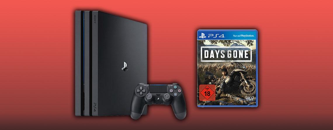 PS4 Pro Bundle mit Days Gone für nur 359 Euro bei MediaMarkt