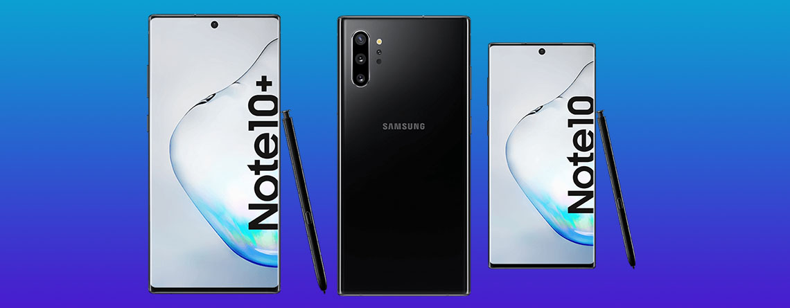 Samsung Galaxy Note 10 und Note 10 Plus mit Vertrag ...