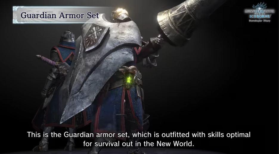 Monster Hunter World Guardian Armor Rüstung