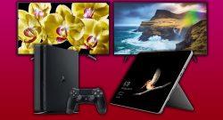 Saturn Sommer Sale: PS4 Slim Bundle & Sony 4K TVs stark reduziert